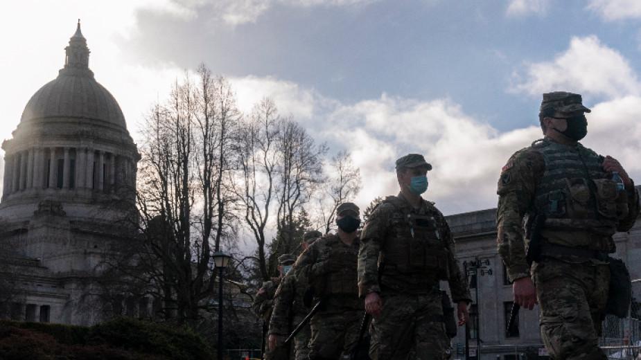 Безпрецедентни мерки за сигурност във Вашингтон преди клетвата на новоизбрания