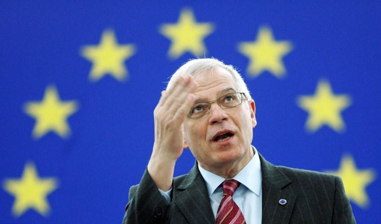 Изправен пред призивите за оставка, първият дипломат на ЕС Жозеп