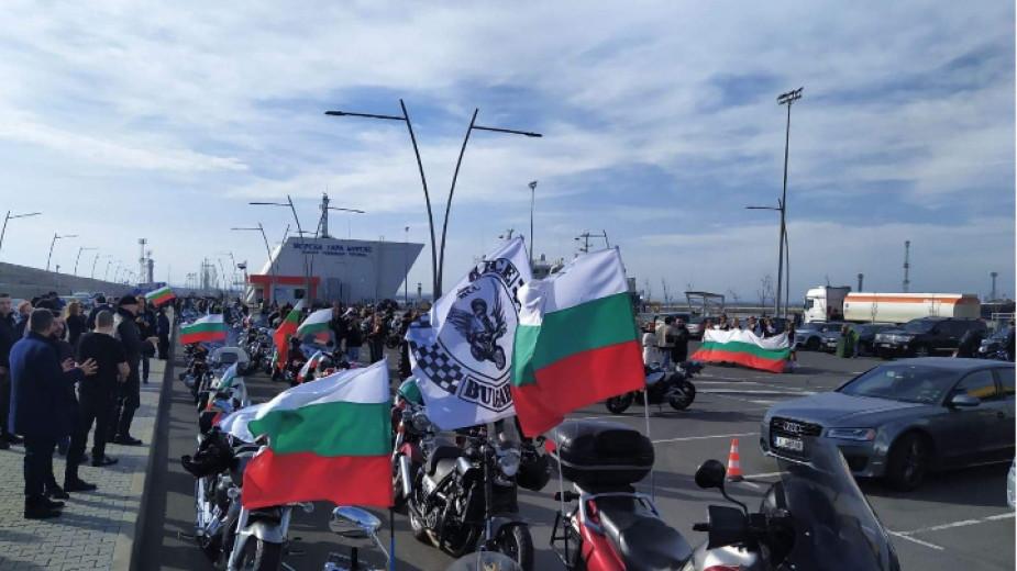 Снимка: Автошествие и морски поход с трибагреници в Бургас
