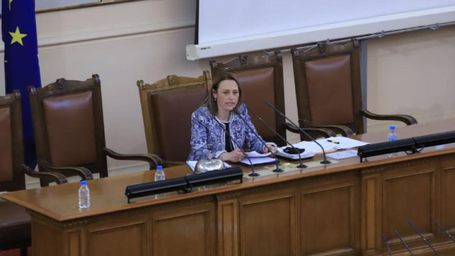 Депутатите избраха ръководството на новото Народно събрание. Ива Митева от