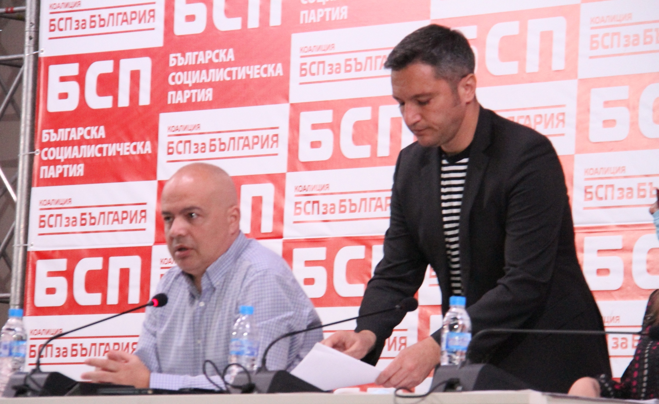 Националният съвет на БСП избра нов предизборен щаб. Кристиан Вигенин