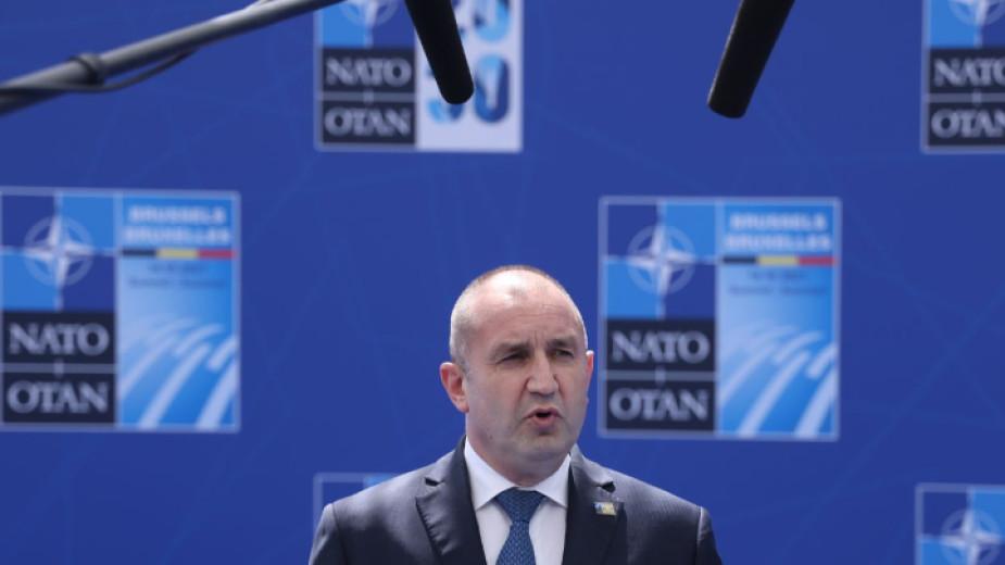 Президентът Румен Радев определи случая със съветника му Пламен Узунов
