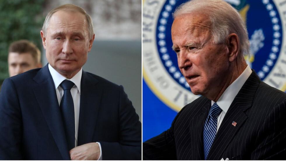Историческа първа среща между американския президент Джо Байдън и руския