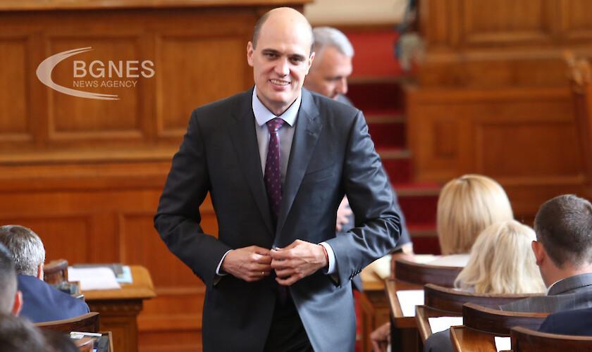 Предложеният от ИТН за министър на финансите Пламен Данаилов заяви,