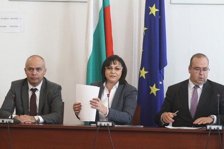Снимка: БСП внесе в парламента алтернативни данъчни закони