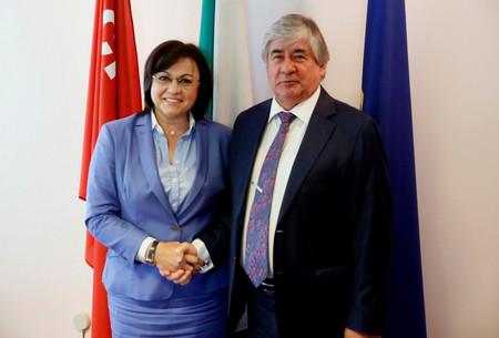Лидерът на БСП Корнелия Нинова се срещна с Н.Пр. г-н