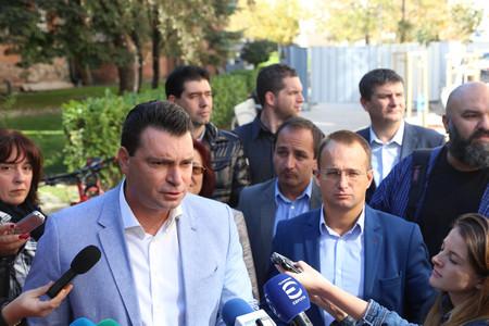 Общински съветници от всички политически групи от опозицията в Столичния