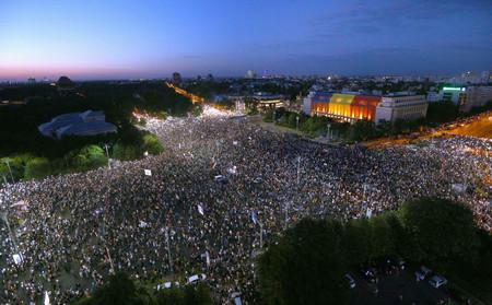Мащабен антиправителствен протест се проведе за втора поредна вечер в