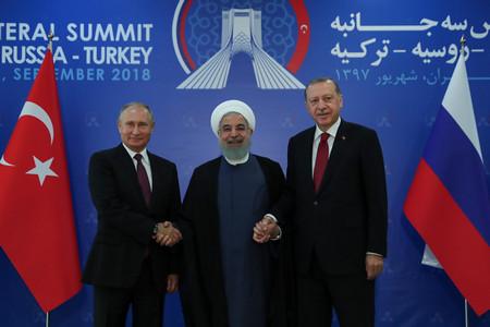 """Натоварената с големи очаквания среща в Техеран на """"Астанското трио"""""""