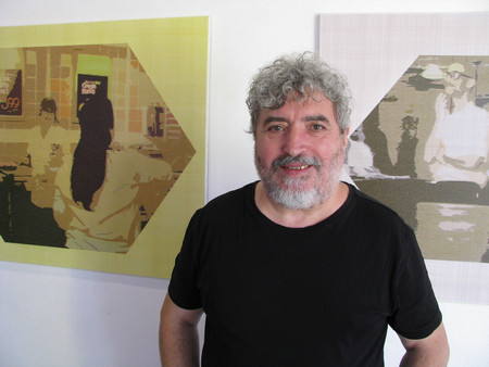 Художникът Сашо Стоицов е сред авторите, които вече тридесет години
