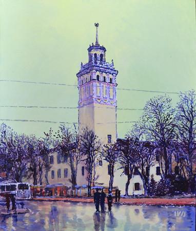"""""""Архитектурни орнаменти"""" - под този наслов Иванна Шмелева показва 33"""