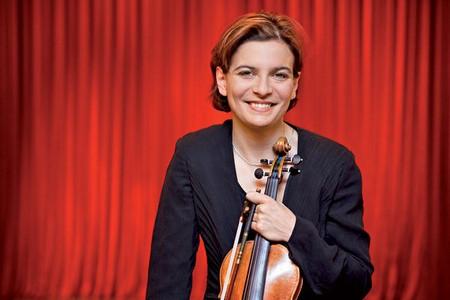 Албена Данаилова, която печели длъжността на първи концертмайстор на Виенската