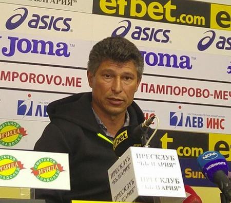 Главният мениджър Красимир Балъков се надява, че Етър ВТ ще